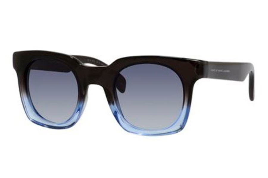 Marc By Marc Jacobs MMJ 474/S Sunglasses in 0GVU Shaded Blue Dark Blue (08 dark blue gradient lens)