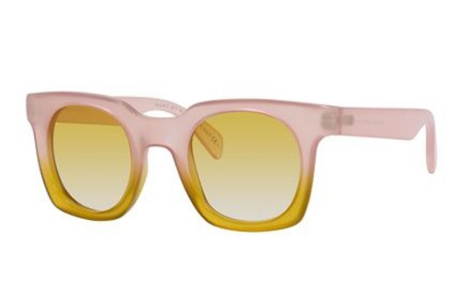 Marc By Marc Jacobs MMJ 474/S Sunglasses in 0GVZ Pink Yellow Yellow (SV yellow gradient lens)