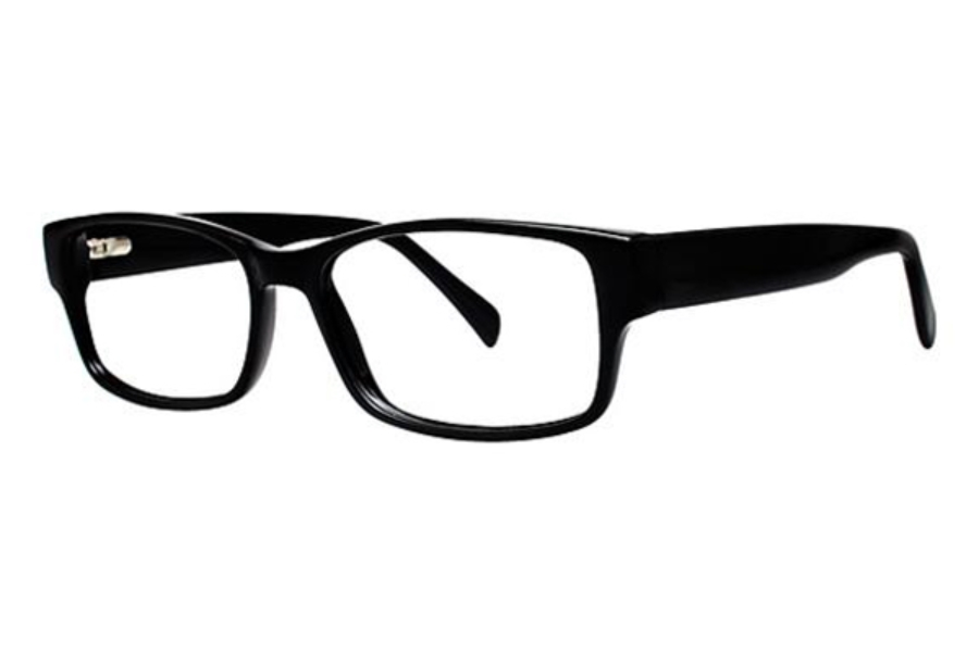 Modern Optical Slick Eyeglasses in Black