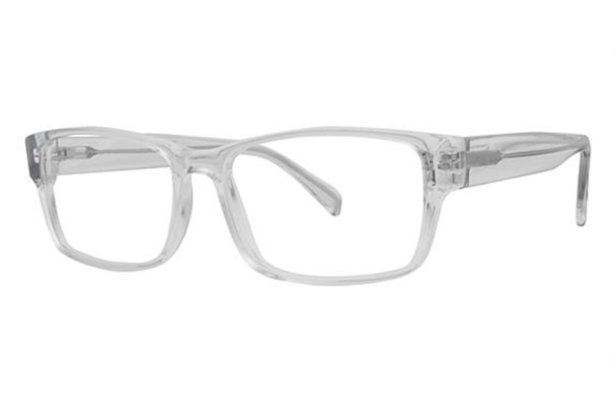 Modern Optical Slick Eyeglasses in Crystal