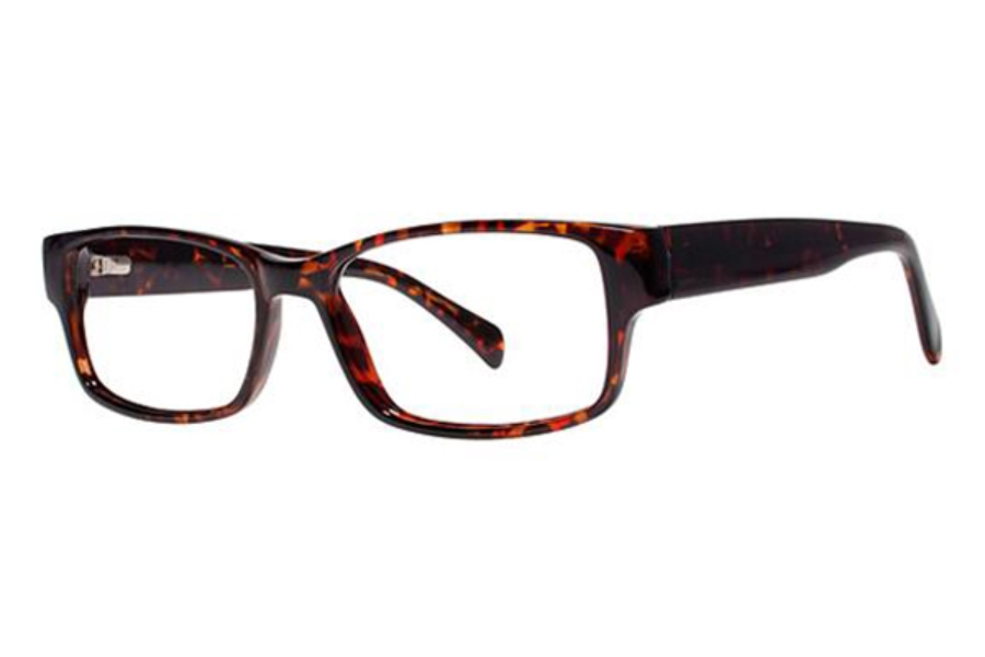 Modern Optical Slick Eyeglasses in Tortoise