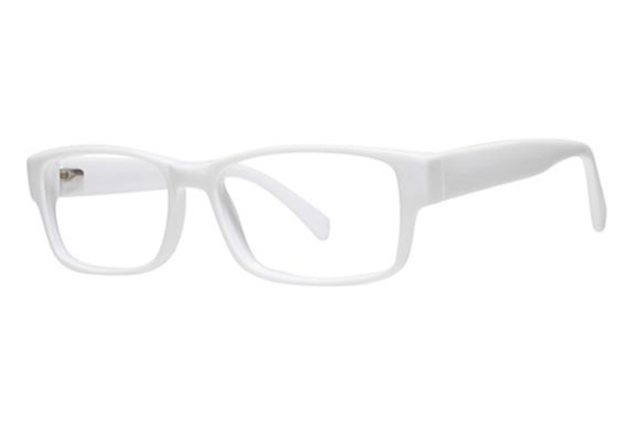 Modern Optical Slick Eyeglasses in White