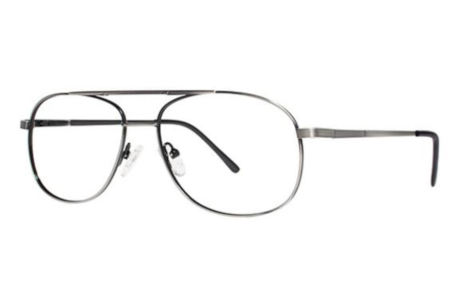 Modern Times Astro Eyeglasses in Antique Silver