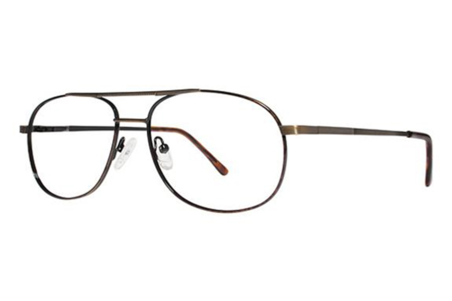 Modern Times Astro Eyeglasses in D.A./Antique Gold
