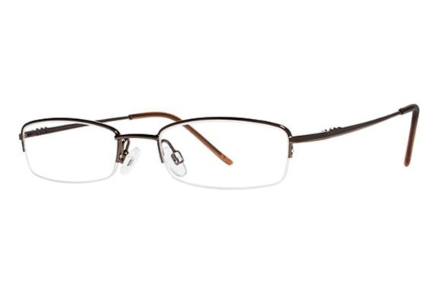 Modern Times Benefit Eyeglasses in Brown