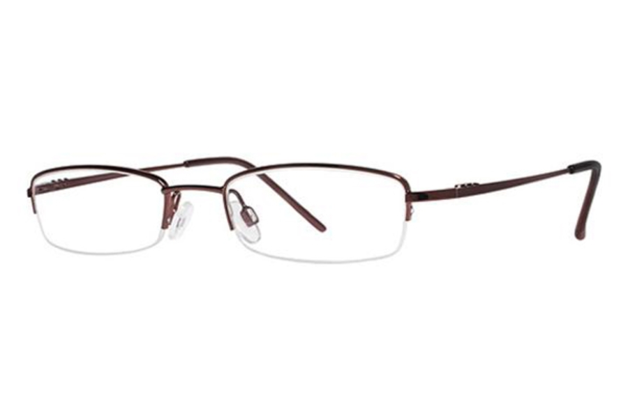 Modern Times Benefit Eyeglasses in Burgundy