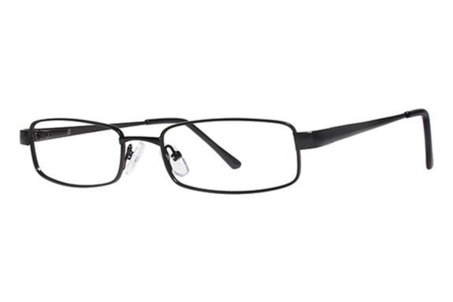 Modern Times Campus Eyeglasses in Matte Black