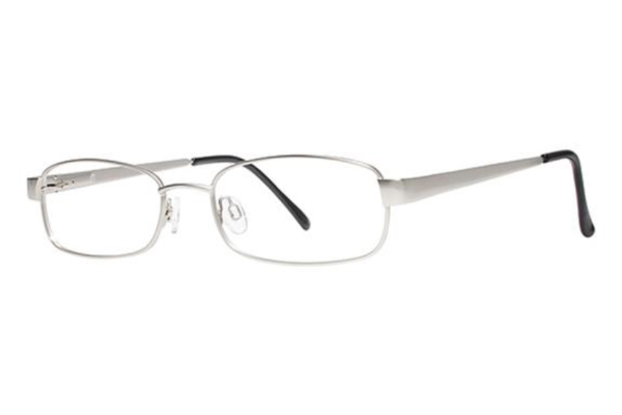 Modern Times Groove Eyeglasses in Matte Silver