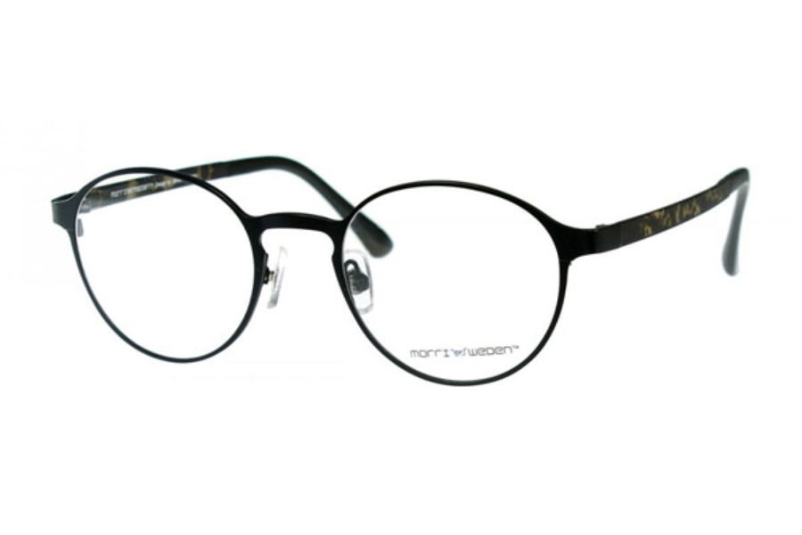 Morriz of Sweden MS-2970 Eyeglasses in C01 Black (Discontinued)