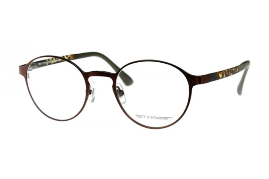 Morriz of Sweden MS-2970 Eyeglasses in C02 Brown (Discontinued)