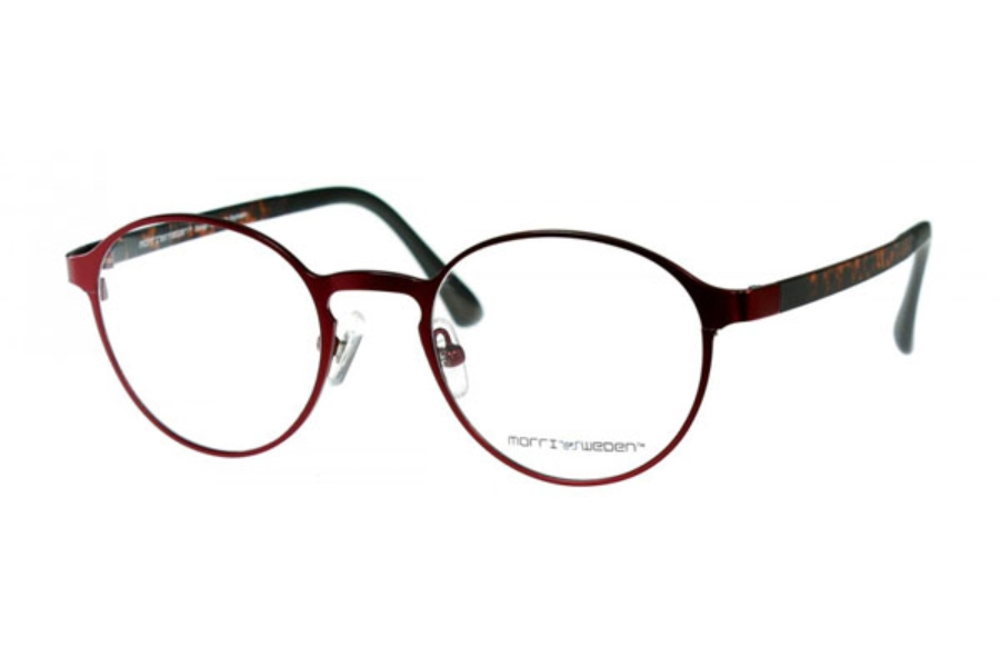 Morriz of Sweden MS-2970 Eyeglasses in C05 Red