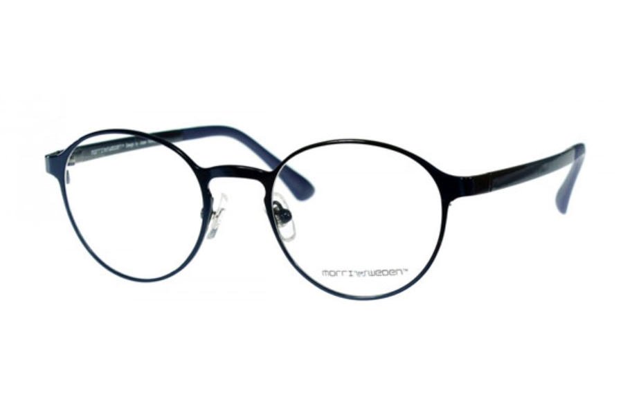 Morriz of Sweden MS-2970 Eyeglasses in C06 Shiny Blue