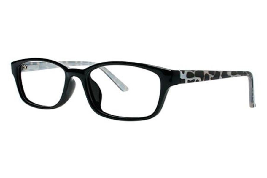 Modern Times Tawny Eyeglasses in Black