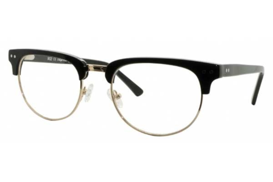 Magic Lock ML902 Eyeglasses in 03 Black C1 (Gold)