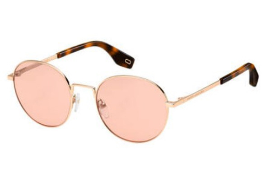 Marc Jacobs Marc 272/S Sunglasses in 01N5 Coral (U1 red lens)