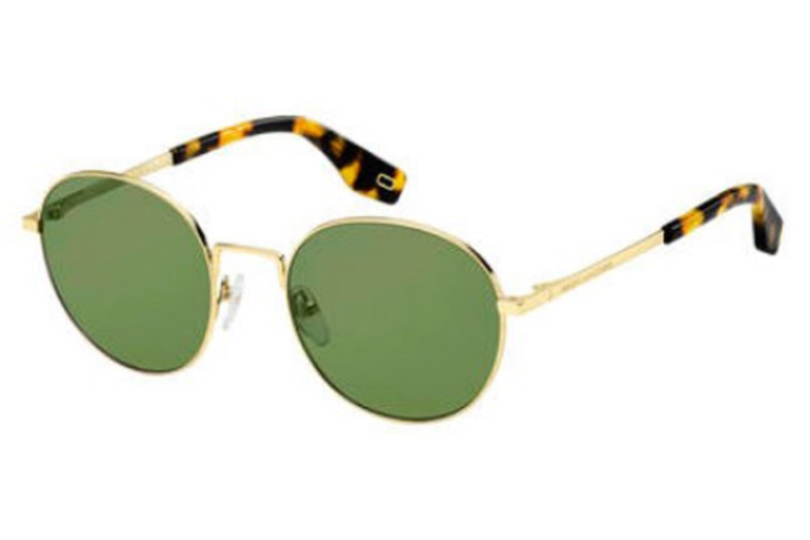 Marc Jacobs Marc 272/S Sunglasses in 0J5G Gold (QT green lens)