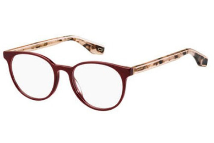 Marc Jacobs Marc 283 Eyeglasses in 0LHF Opal Burgundy