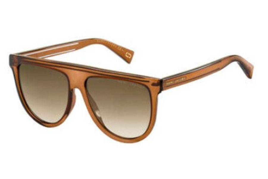 Marc Jacobs Marc 321/S Sunglasses in 009Q Brown (HA brown gradient lens)