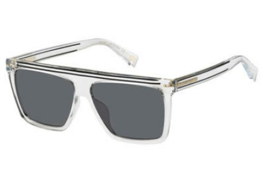 Marc Jacobs Marc 322/G/S Sunglasses in 0900 Crystal (IR gray blue lens)
