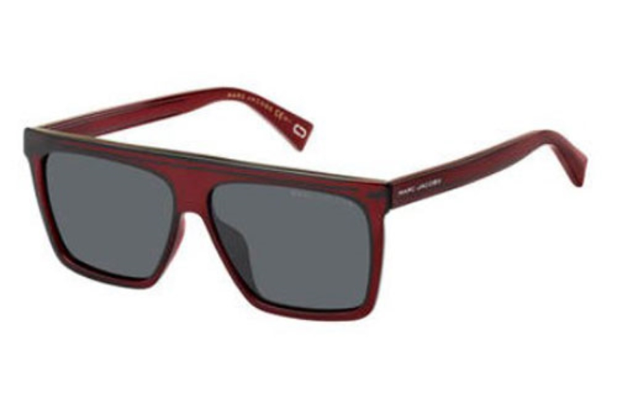 Marc Jacobs Marc 322/G/S Sunglasses in 0LHF Opal Burgundy (IR gray blue lens)
