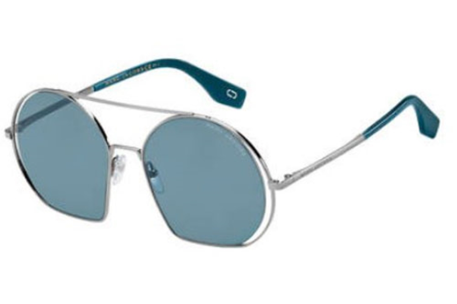 Marc Jacobs Marc 325/S Sunglasses in 0Y6I Ruthenium Petroleum (KU blue avio lens)
