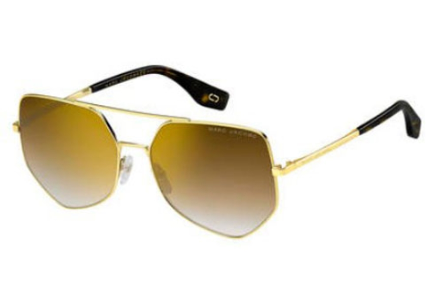 Marc Jacobs Marc 326/S Sunglasses in 001Q Gold Brown (JL brown ss gold lens)