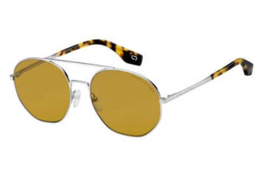 Marc Jacobs Marc 327/S Sunglasses in 04ES Silver Brown (70 brown lens)