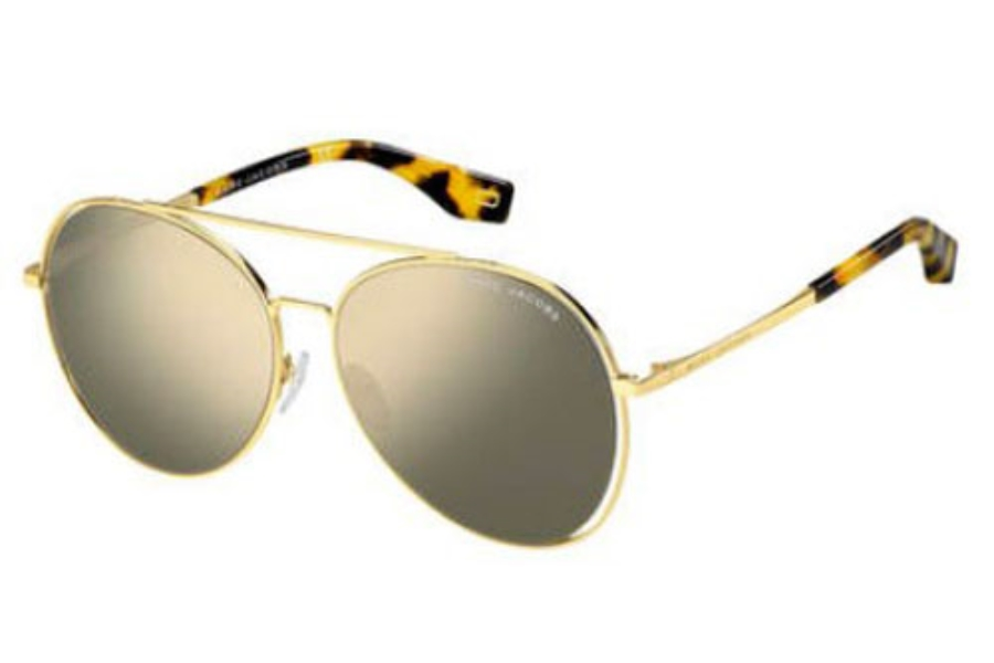 Marc Jacobs Marc 328/F/S Sunglasses in 0SCL Yellow Havana (UE gray ivory mirror lens)