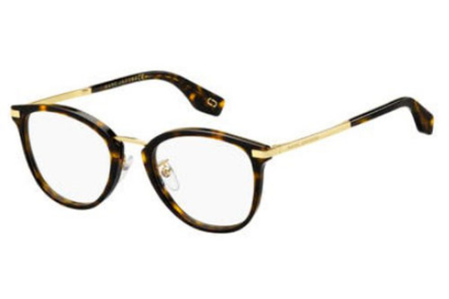 Marc Jacobs Marc 331/F Eyeglasses in 0086 Dark Havana