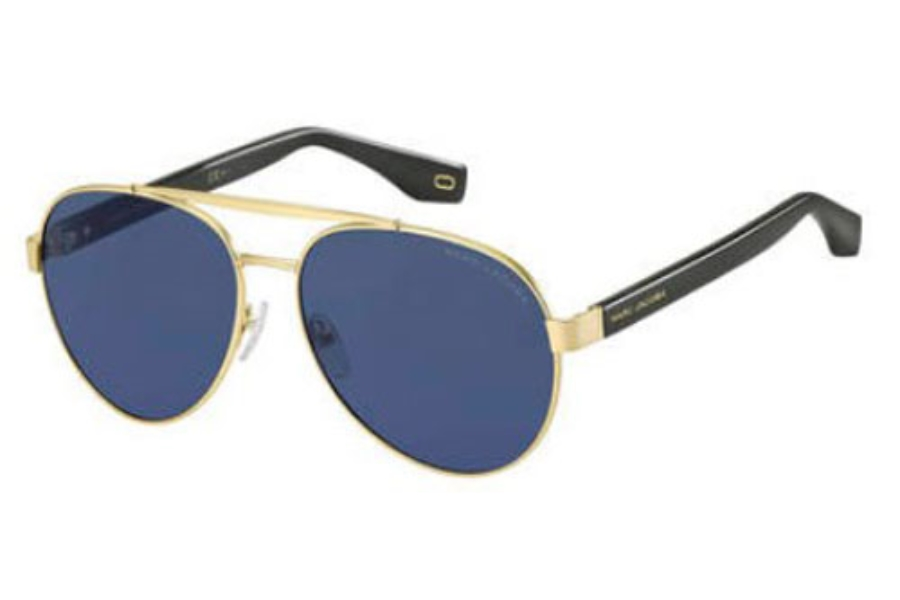 Marc Jacobs Marc 341/S Sunglasses in 0KB7 Gray (KU blue avio lens)