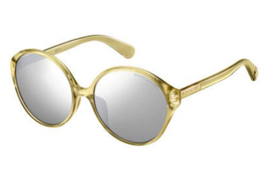 Marc Jacobs Marc 366/F/S Sunglasses in 0J5G Gold (T4 silver mirror lens)