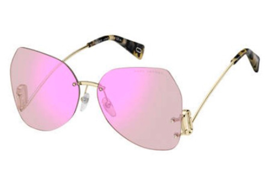 Marc Jacobs Marc 373/S Sunglasses in 035J Pink (13 violet mirror lens)