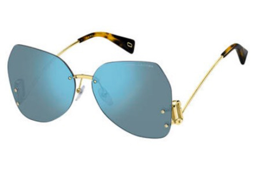 Marc Jacobs Marc 373/S Sunglasses in 0PJP Blue (2Y gold sf lens)
