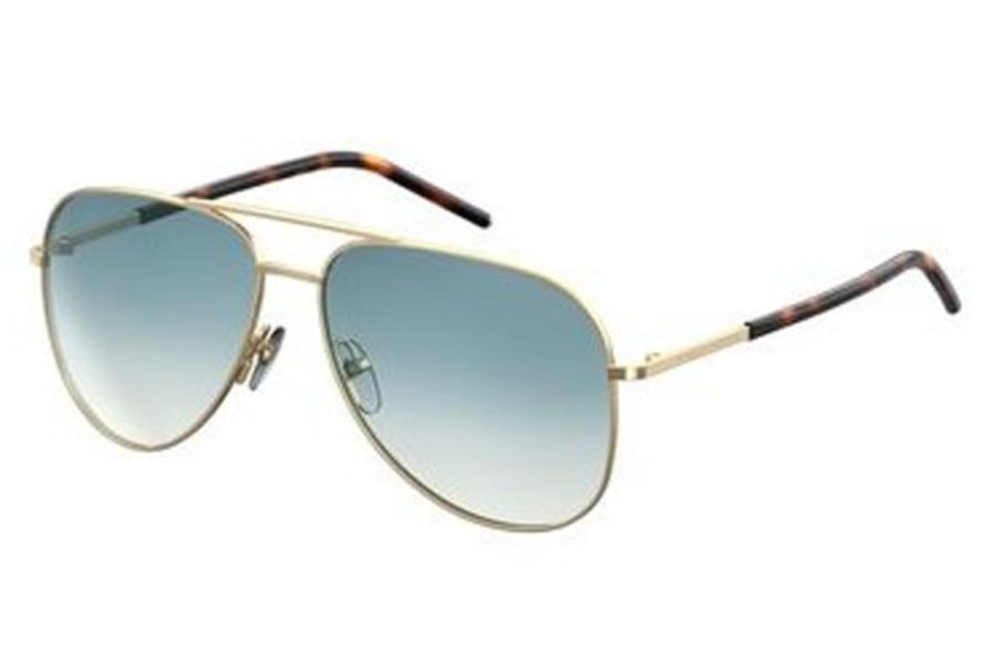 076404fc4 ... Marc Jacobs Marc 60/S Sunglasses in 0TAV Gold (T3 azure gradient lens)  ...