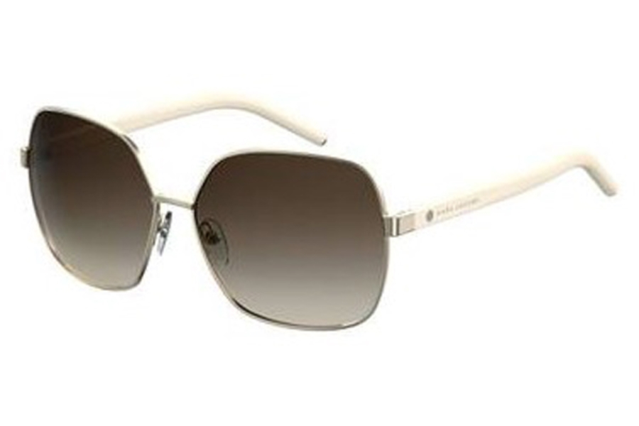 Marc Jacobs Marc 65/S Sunglasses in 0P1M Light Gold Ivory (CC brown gradient lens)