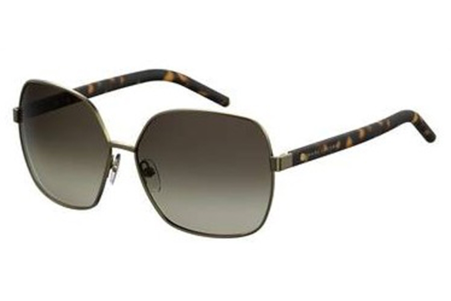 Marc Jacobs Marc 65/S Sunglasses in 0PFE Dark Havana (HA brown gradient lens)
