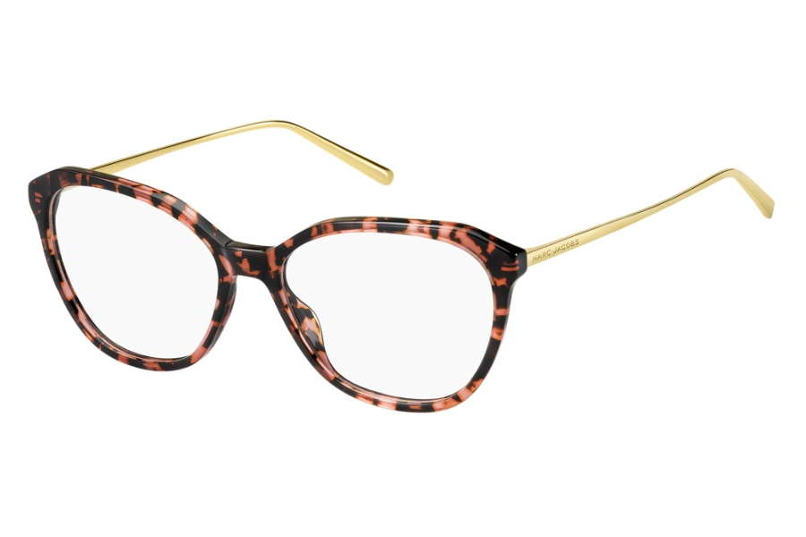 Marc Jacobs Marc 485 Eyeglasses in 0YDC Burgundy Havana