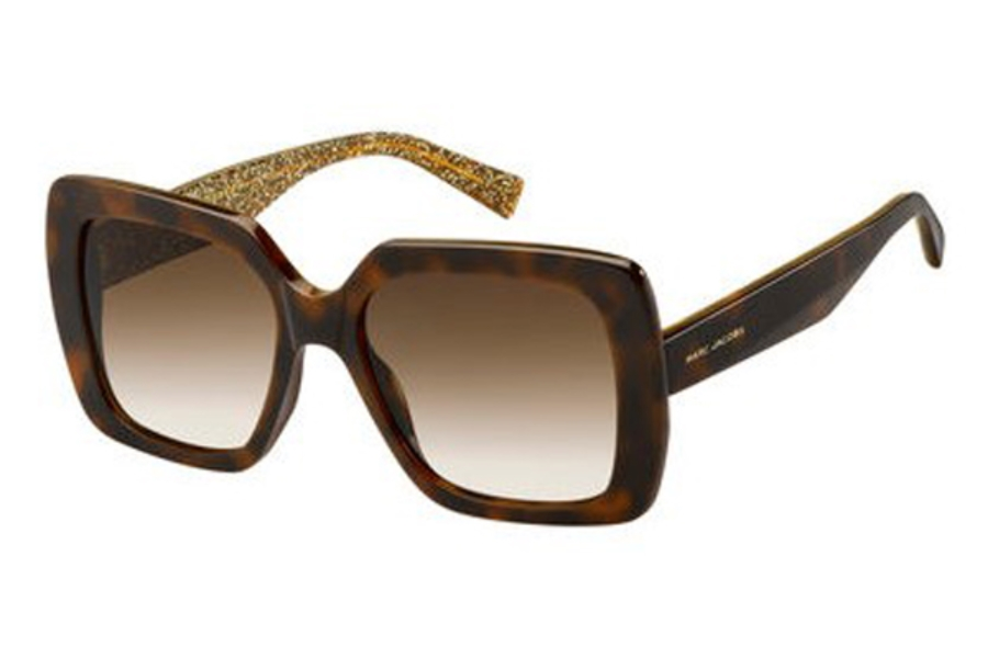 Marc Jacobs Marc 230/S Sunglasses in 0DXH Havana Bwglgd (HA brown gradient lens)