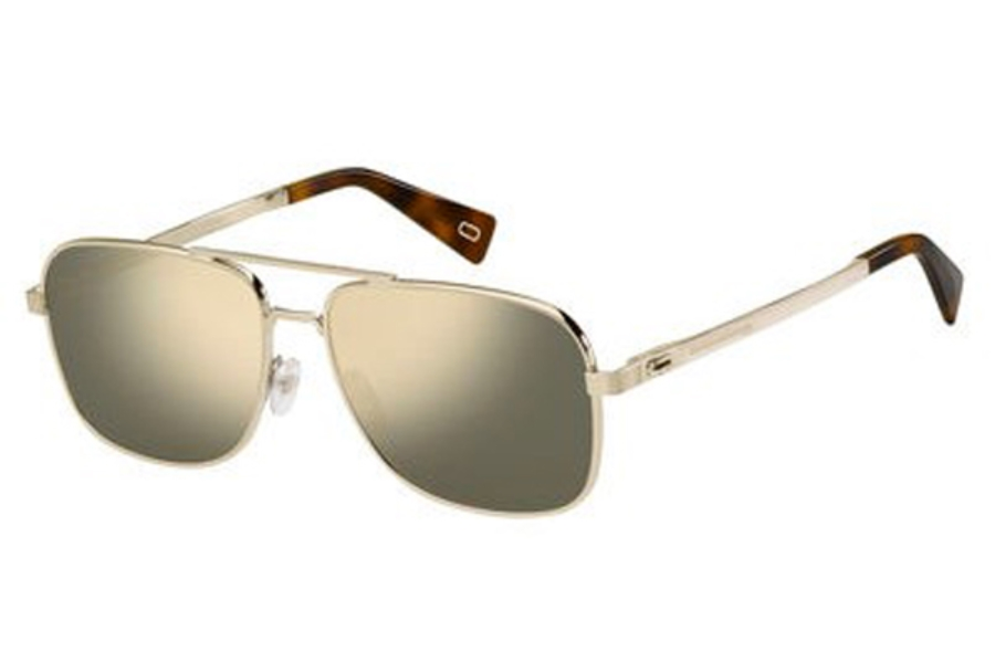 Marc Jacobs Marc 241/S Sunglasses in 03YG Lgh Gold (UE gray ivory mirror lens)