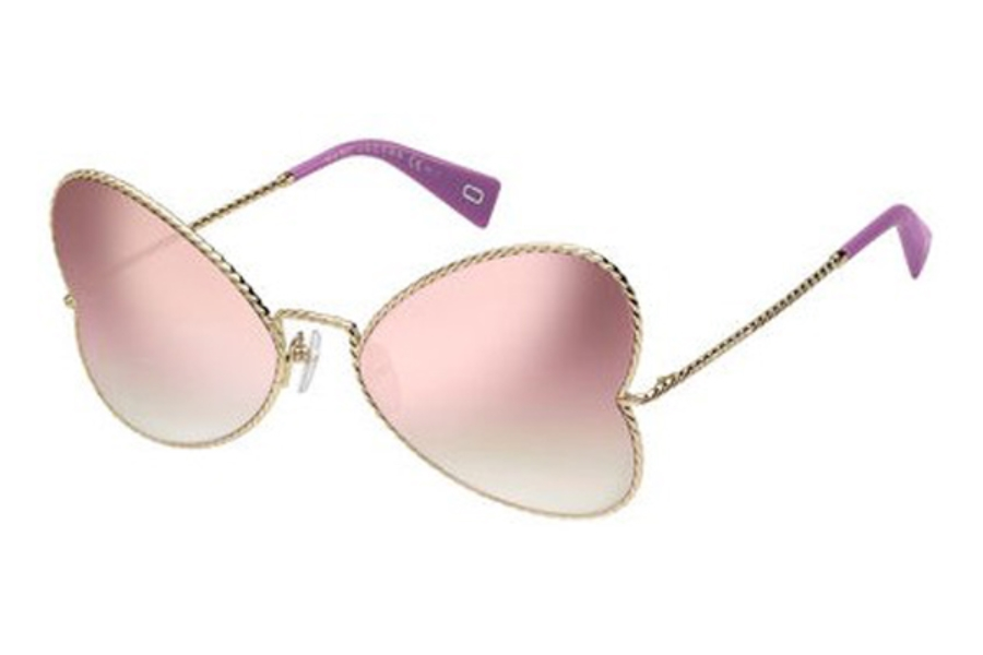 Marc Jacobs Marc 254/S Sunglasses in 03YG Lgh Gold (VQ multipink cp pz lens)