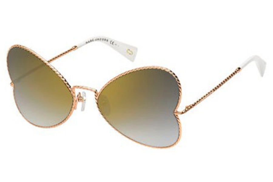 Marc Jacobs Marc 254/S Sunglasses in 0DDB Gold Copper (FQ gray sf gold sp lens)