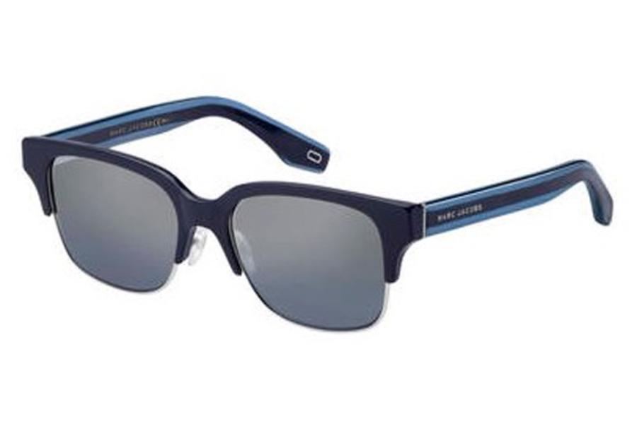 Marc Jacobs Marc 274/S Sunglasses in 0PJP Blue (96 ltgray silversp lens)