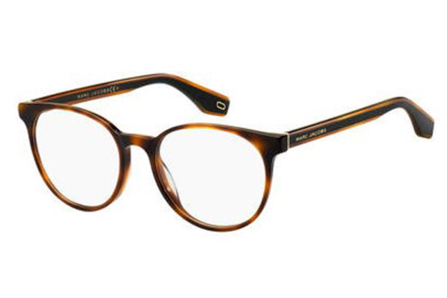 Marc Jacobs Marc 283 Eyeglasses in 0086 Dark Havana