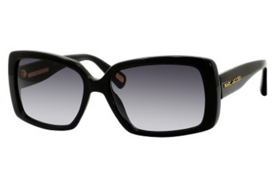 Marc Jacobs 304/S Sunglasses in 0807 Black (JJ gray shaded lens)
