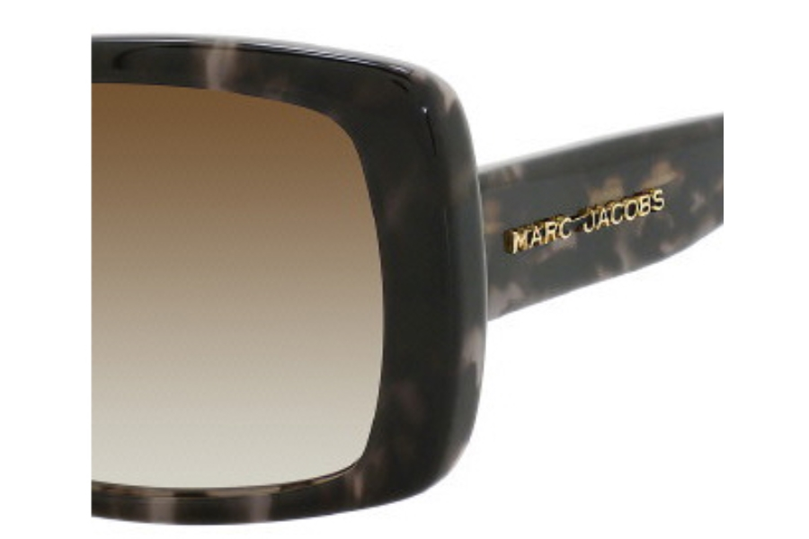 Marc Jacobs 304/S Sunglasses in 09UU Gray Spotted (CC brown gradient lens)