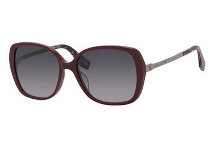 Marc Jacobs Marc 304/S Sunglasses in 0LHF Opal Burgundy (9O dark gray gradient lens)