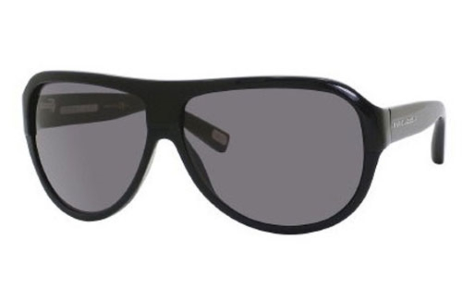 Marc Jacobs 343/S Sunglasses in 0807 Black (BN dark gray lens)