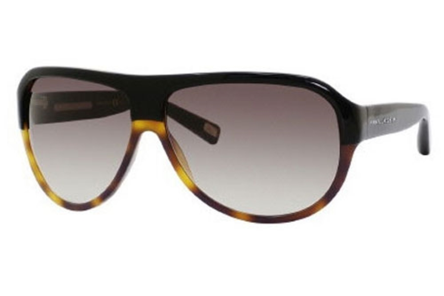 Marc Jacobs 343/S Sunglasses in 0UVP Black Dark Tortoise (JS gray gradient lens)
