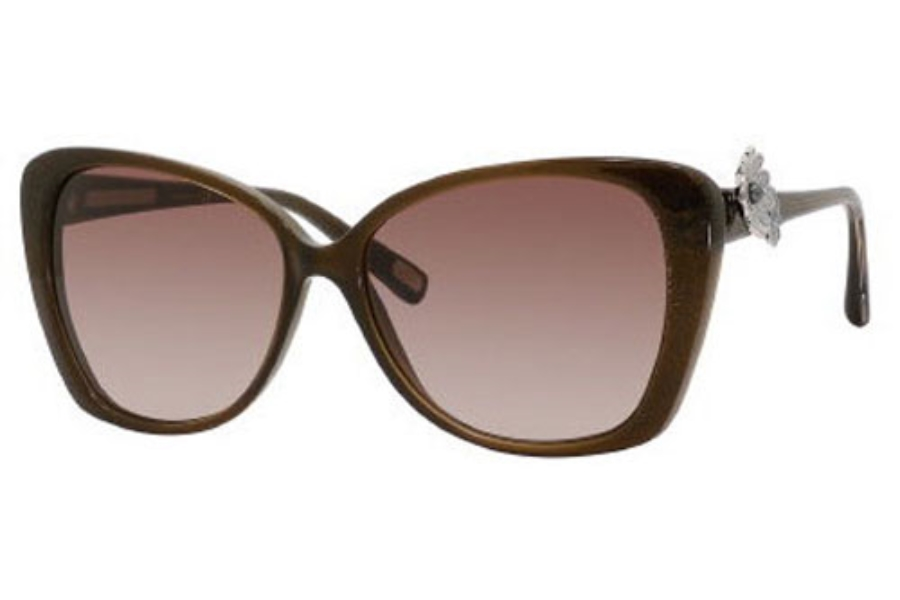 Marc Jacobs 347/S Sunglasses in 0YHQ Brown Glitter Brown (JD brown gradient lens)