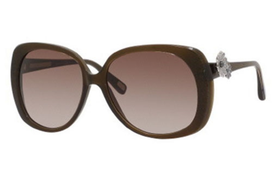 Marc Jacobs 348/S Sunglasses in 0YHQ Brown Glitter Brown (JD brown gradient lens)